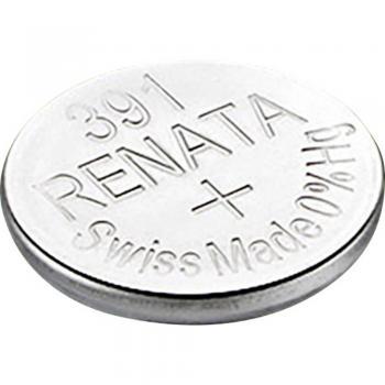 Gumbna baterija 391 srebrovo-oksidna Renata SR55 primerna za visoke tokove 50 mAh 1.55 V, 1 kos