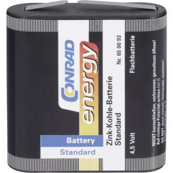 Ploščata baterija, cink-ogljikova Conrad energy 3LR12 2000 mAh 4.5 V 1 kos