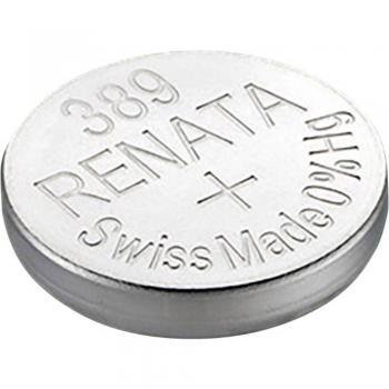 Gumbna baterija 389 srebrovo-oksidna Renata SR54 primerna za visoke tokove 80 mAh 1.55 V, 1 kos