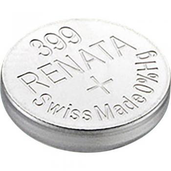 Gumbna baterija 399 srebrovo-oksidna Renata SR57 primerna za visoke tokove 53 mAh 1.55 V, 1 kos