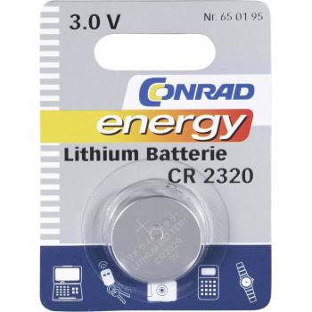 Gumbna baterija CR 2320 litijeva Conrad energy CR2320
