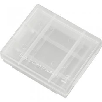Škatla za shranjevanje baterij Conrad energy za 4 baterije tipa AAA ali AA 650690
