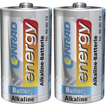 Mono baterija (D) alkalno-manganova Conrad energy LR20 1.5 V 2 kosa