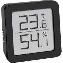TFA Dostmann termo/higrometer črna