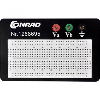 Preizkusna ploščica, skupno št. polov 610 (D x Š x V) 114.3 x 186.2 x 8.4 mm TRU COMPONENTS