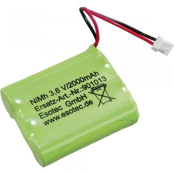 Esotec Akumulatorski paket Mignon 3,6 V s priključkom 2000 mAh