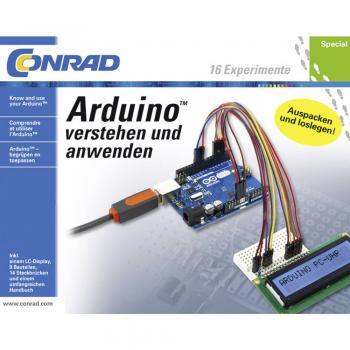 Učni paket Conrad Components Arduino™ razumevanje in uporablja 10174 od 14. leta starosti naprej