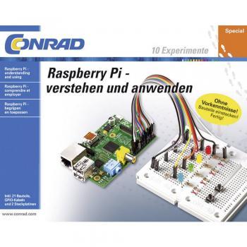 Učni paket Conrad Components set Raspberry Pi za razumevanje in uporabo + Raspberry Pi® 3