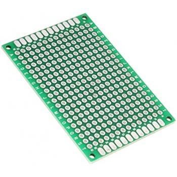 Eksperimentalna plošča za tiskano vezje, epoksid (D x Š) 60 mm x 40 mm 35 µm raster 2.54 mm