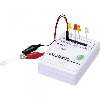 LED tester 9 V/DC primeren za ožičene LED diode, SMD LED