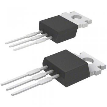Napetostni regulator - linearni, tip78 STMicroelectronics L7805CV TO-220AB pozitiven, stabilen 5 V 1.5 A