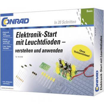 Conrad Osnovni učni paket za elektroniko z LED-diodami