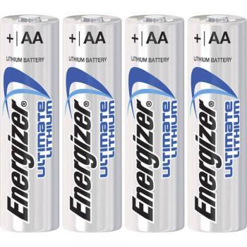 Mignon baterija (AA) litijeva Energizer Ultimate LR06 3000 mAh 1.5 V 4 kosi