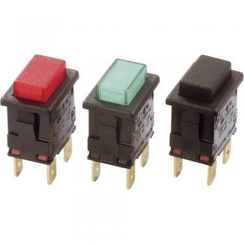 Arcolectric Miniaturno stikalo2 polni v/iz 250 V/AC 16 (4)A H8350ABAAA