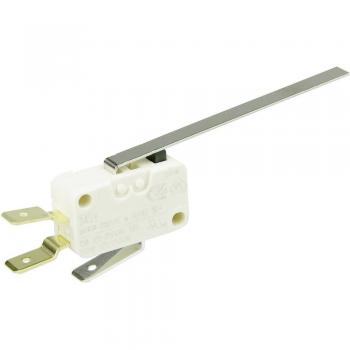 Cherry Miniaturno stikalo D4 250 V/AC D453-V3LL, 1 preklopni kontakt, ploščati vtič Cherry Switches