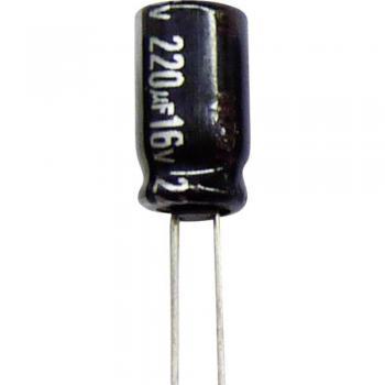 Elektrolitski kondenzator, radialno ožičen 5 mm 1000 µF 35 V 20 % ( x V) 12.5 mm x 20 mm Panasonic ECA1VHG102B 1 kos