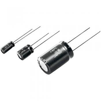 Elektrolitski kondenzator, radialno ožičen 2.5 mm 100 µF 35 V 20 % (premer x D) 6.3 mm x 11.2 mm Panasonic ECA1VM101I 1 kos