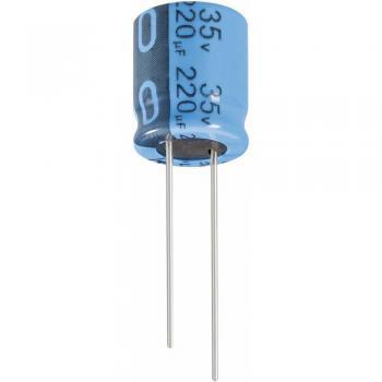 Jianghai Radialni standardni kondenzator (O x V) 8 mm x 11.5 mm mere rastra 3.5 mm 47 -uF ECR1JPT470MFF350811
