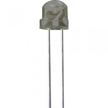 Ožičena LED dioda, zelena, okrogla 5 mm 550 mcd 130 ° 30 mA 3.2 V Kingbright L-9294VGC-A