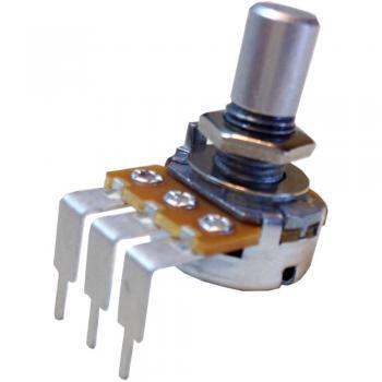 Vrtljivi potenciometer Mono 0.2 W 25 k Potentiometer Service GmbH RV16AF-41-15R1-B25k 1 kos