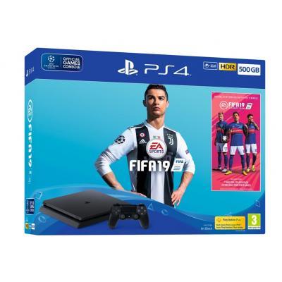 Sony Playstation 4 Slim 500GB + FIFA 2019 DARILO