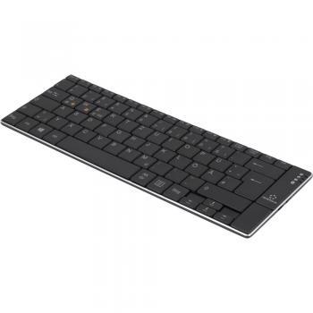 Bluetooth tipkovnica Renkforce RF-DS-SLIMBT črne barve, polnilna