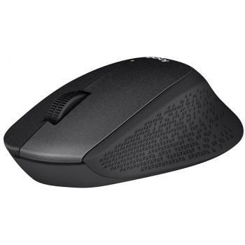 Logitech M330 SilentPlus USB brezžična miška črna