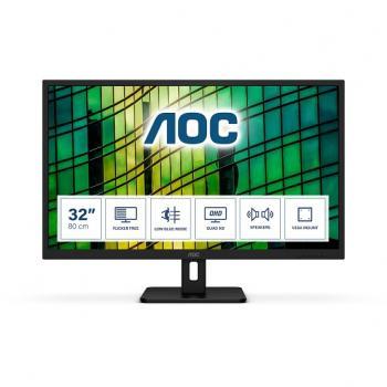 AOC Q32E2N monitor 80 cm (31,5), QHD, IPS