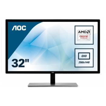 "Monitor AOC 81,3 cm (32,0"") Q3279VWF 2560x1440 MVA(IPS) 5ms VGA DVI HDMI DisplayPort FreeSync"