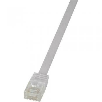 RJ45 omrežni kabel CAT 6U S / FTP [1x RJ45 konektor - 1x RJ45 konektor] 10 m bela LogiLink CF2091U