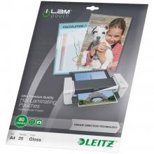 Laminirana folija Leitz DIN A4 80 micron svetleča 25 kosov