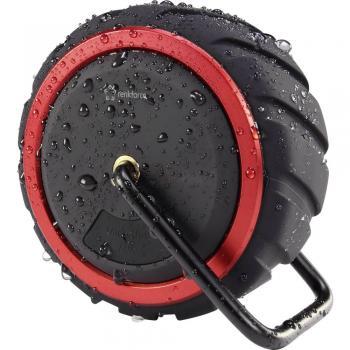 """Bluetooth® zvočnik 2.1 +EDR Renkforce """"AdventureWheel1"""" s prostoročno funkcijo, z zaščito pred škropljenjem vode, SD, AUX čr"""