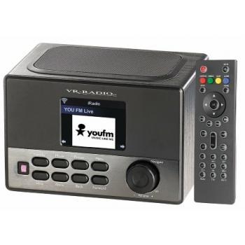 Internetni radio IRS-600 WiFi VR-Radio USB 8W zaslon