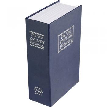 Sef v obliki knjige Basetech 1486098, zaklepanje s ključem