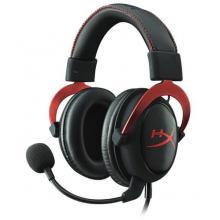 Kingston slušalke z mikrofonom HyperX Cloud II, rdeče
