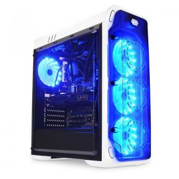 LC Power Gaming 988W Blue Typhoon Mid ohišje ATX