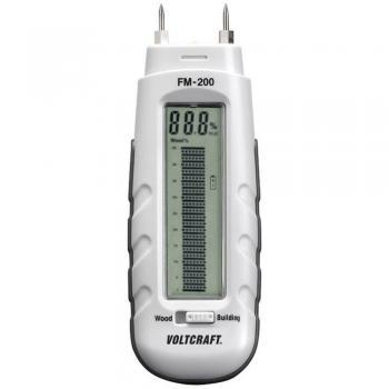 Merilnik vlage v materialu VOLTCRAFT FM-200 vlažnost v zgradbah