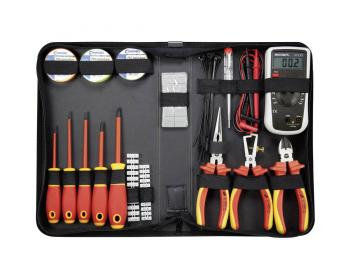 50-delni komplet orodja za električarje TOOLCRAFT, v skladu z VDE
