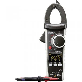Tokovne klešče, ročni multimeter, digitalni VOLTCRAFT VC-590OLED kalibracija narejena po: delovnih standardih, OLED-zaslon CAT I