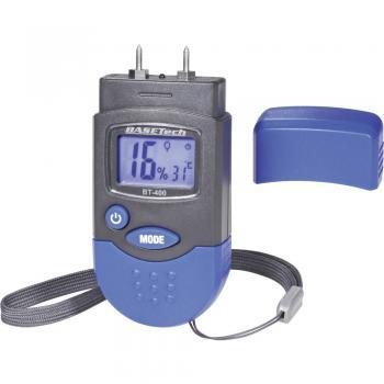 Merilnik vlažnosti materialov Basetech BT-400, merilno območje vlažnosti materialov: 0,2-2 vol%