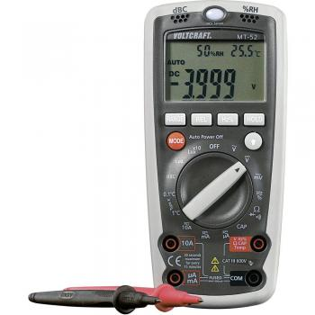 Ročni multimeter, digitalni VOLTCRAFT MT-52, merilna funkcija za okolje CAT III 600