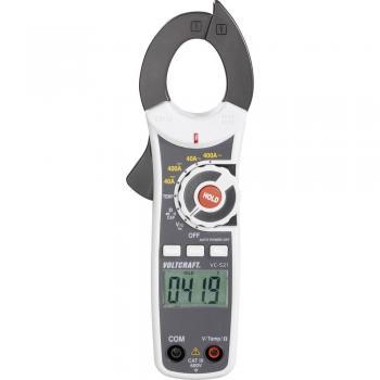 Tokovne klešče, ročni multimeter, digitalni VOLTCRAFT VC-521