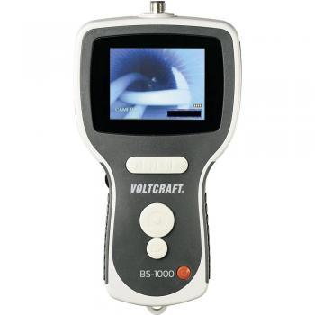 """VOLTCRAFT endoskop BS-1000T +8,89 cm (3,5"""") LCD + reža za SD-kartice + zoom + kovček 40€/DAN"""