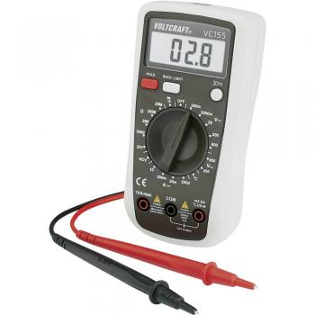 Ročni multimeter, digitalni VOLTCRAFT VC155, CAT III 600 V