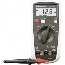 Ročni multimeter, digitalni VOLTCRAFT VC165 TRMS kalibracija narejena po: delovnih standardih, CAT III 600 V