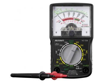 Ročni multimeter, analogni VOLTCRAFT VC-13A, CAT III 300 V