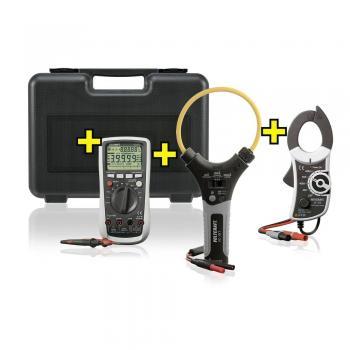 Ročni mulitmeter, tokovne klešče-adapter VOLTCRAFT VC-870 varčevalni komplet kalibracija narejena po: delovnih standardih, CAT I, 40€/DAN