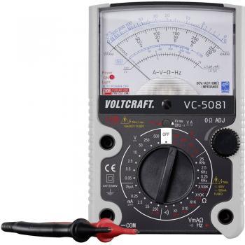 Ročni multimeter, analogni VOLTCRAFT VC-5081 kalibracija narejena po: delovnih standardih CAT III 500 V