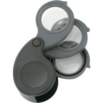 Lupa za elektronike, premer leče: 27 mm 1 kos Magnifier5.10.15x TRU Components (D x Š x V) 61 x 42 x 28 mm