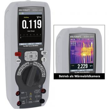 VOLTCRAFT WBM-460 termovizijska kamera, vklj funkcija multimetra -20 do +260 °C 80 x 80 pikslov 50 Hz, 40€/DAN